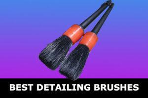 best car detailing brushes