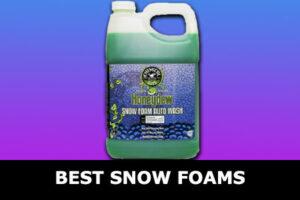 best snow foams