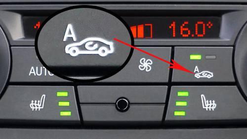 recirculation button