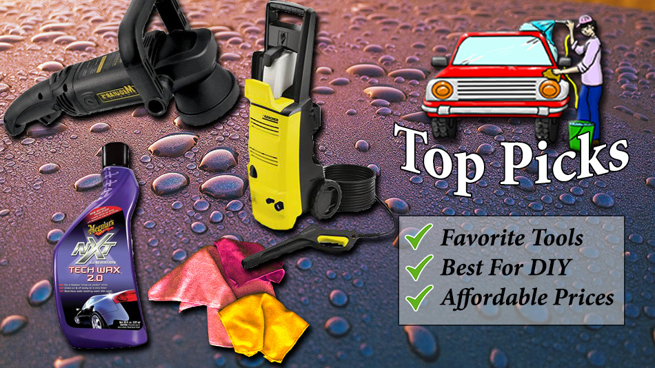 best recommended products for car detailing - car detailing planet