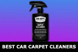 best car carpet cleaners
