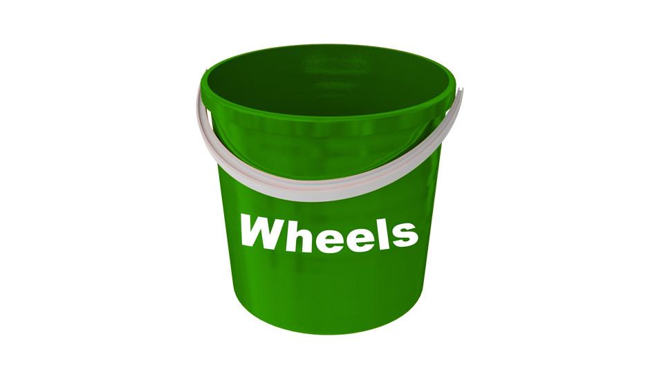 wheels bucket 3 bucket method