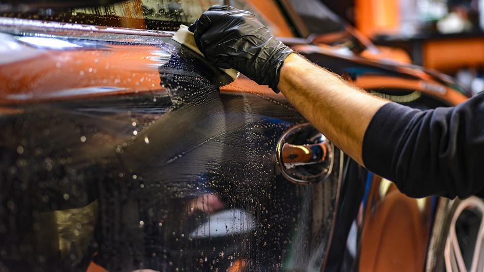 car detailing protective equipment for health safety