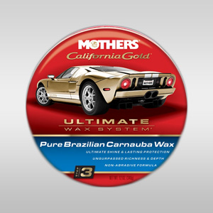 mothers pure brazilian carnauba wax, mothers california gold, best car wax, natural wax, carnauba wax