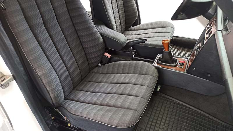 reinstall seats to the car, finished cleaning seats
