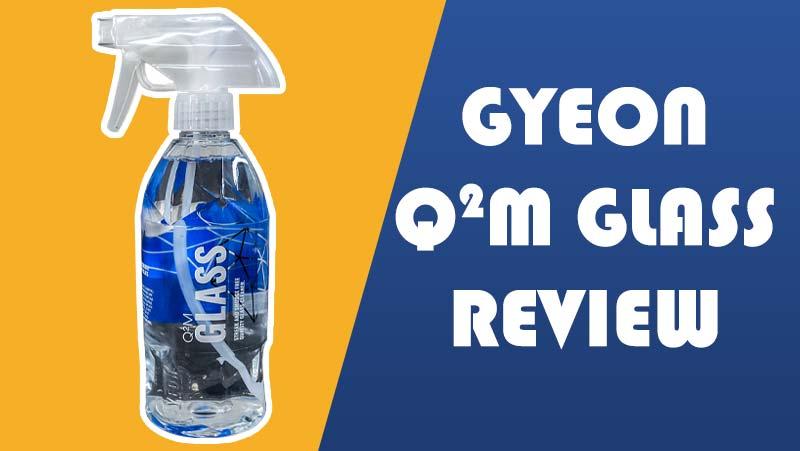 gyeon q2m automotive glass cleaner