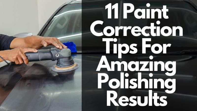 paint correction tips to get fantastic results, glossy paint after polishing,