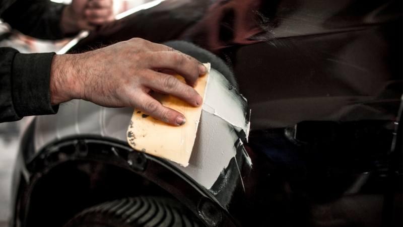 car paint fillers, fixing car paint,