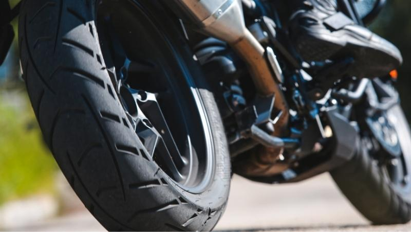 can you use tire dressing on motorcycle tires